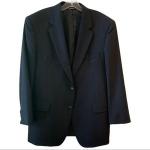 Jos A Bank Navy Wool Blazer